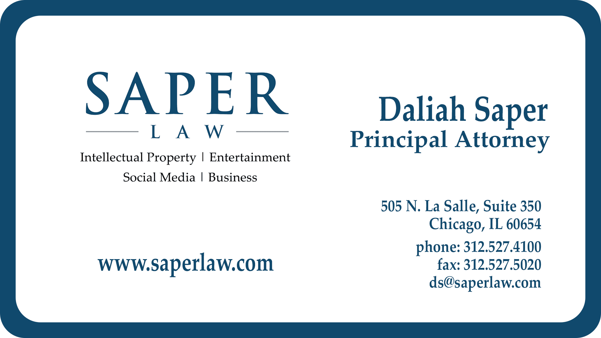 Contact - Saper Law Offices