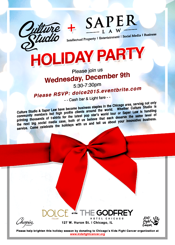 Saper Law Holiday Party at Dolce